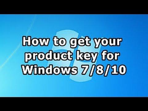 how to get windows 7 key