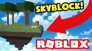 SKYBLOCK IN ROBLOX!!