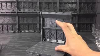 Sirtoys Mechanical Chain Base Display Gundam Mech Transformers