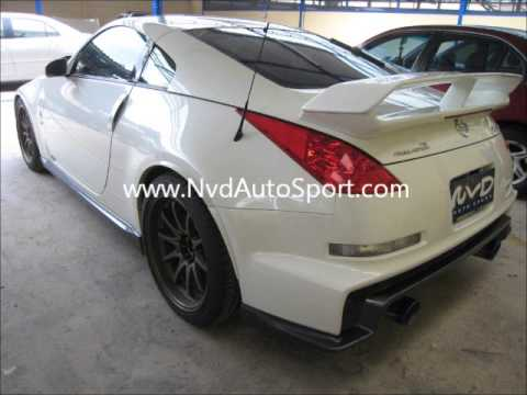 Nissan 350Z Z33 Nismo V3 bodykit  rear boot wing  Front bumper