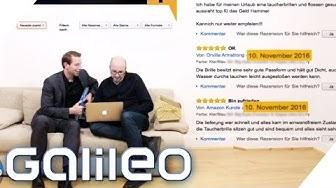 So erkennst du gefälschte Kundenbewertungen bei Amazon | Galileo | ProSieben