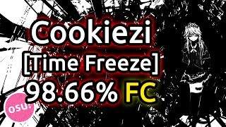 Cookiezi | UNDEAD CORPORATION - Everything will freeze [Time Freeze] 98.66% FC 650pp | Liveplay