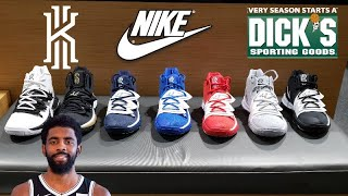 TOO MUCH HEAT!! KYRIE IRVING'S NIKE KYRIE 5 SNEAKER REVIEW IN MANY COLORS