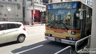 神奈川中央交通東  大和営業所行き先は、レア休日1本しかない、町70系統田奈駅経由町田バスセンター行き