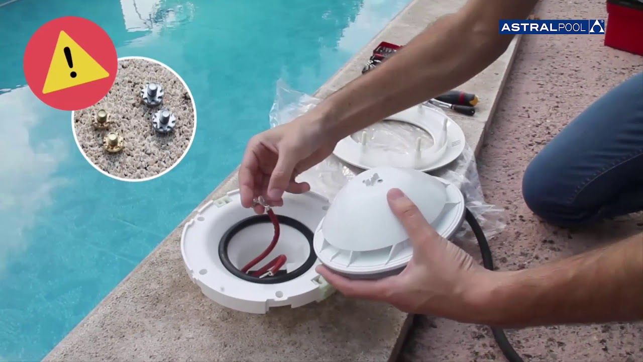 Tutorial Como Substituir Una Lampara De Piscina Lumiplus Astralpool Youtube