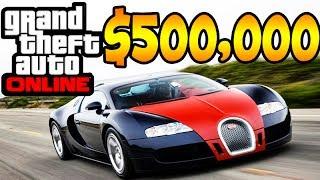 GTA V ONLINE: GASTANDO DINHEIRO DA ROCKSTAR U$ 500.000 !!!