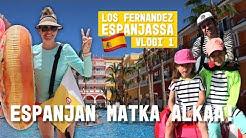 LÄHTÖ ESPANJAAN + HOTELLIN ESITTELY I Los Fernandez Espanjassa kausi 2 vlogi 1
