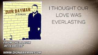 Dion Bayman - Strong (Lyric Video)