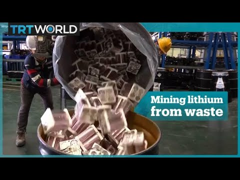 South Korea mines lithium from electronic waste