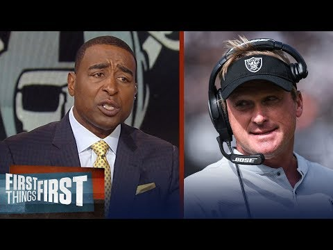 Cris Carter explains why the Raiders' players can't trust Jon Gruden | NFL | FIRST THINGS FIRST