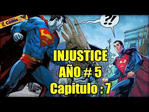 INJUSTICE Año 5 -  Capitulo 7 / Superman encuentra a Bizarro...