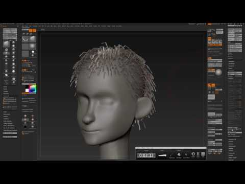 ZBRUSH : FIBERMESH to MODO and in relation to POLYMESH3D.