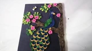 Quilling Peacock Easy