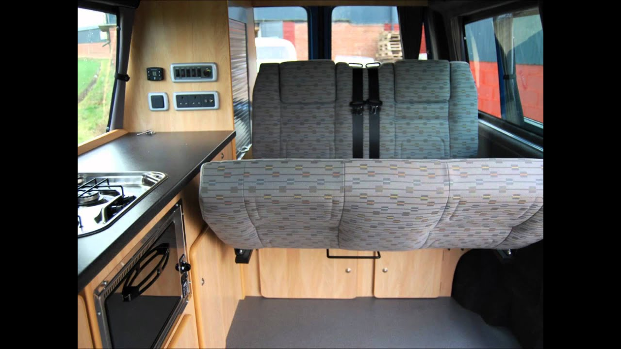 Rib Altair Campervan Seat Amp Bed System Youtube
