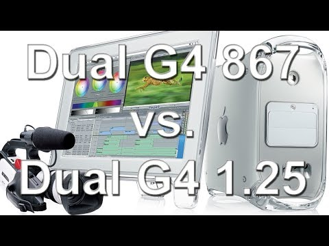 PowerPC sunset (part 2) - Power Mac G4 MDD Dual 867 MHz vs. Dual 1.25 GHz