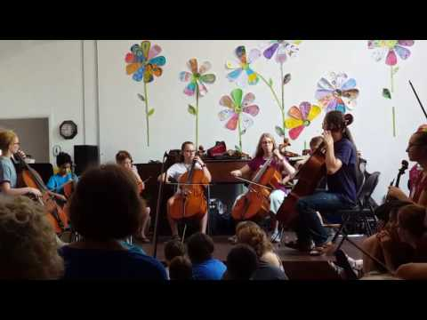Kanack School of Musical Artistry cello group