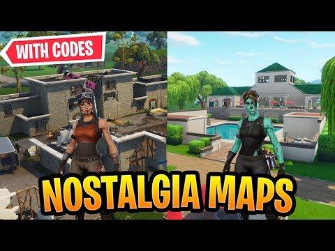 Best Nostalgia Maps In Fortnite Creative *OG* WITH CODES!