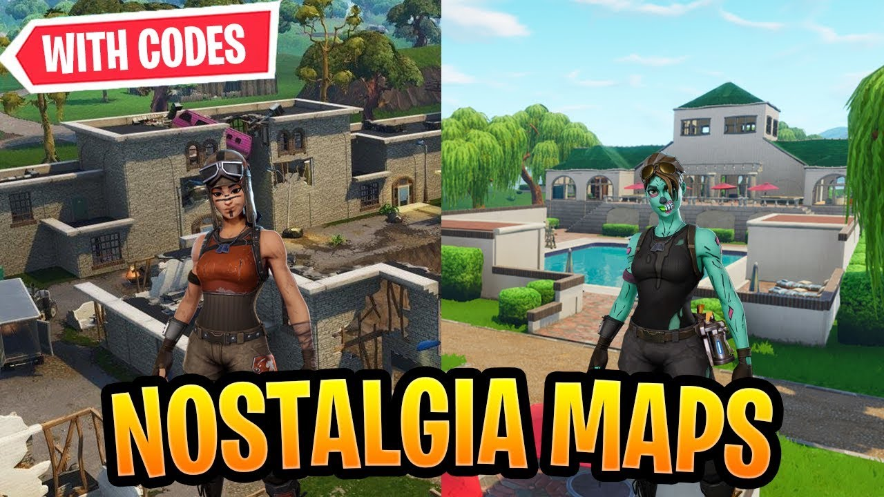 Best Nostalgia Maps In Fortnite Creative *OG* WITH CODES ...