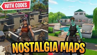 Best Nostalgia Maps In Fortnite Creative *OG* WITH CODES!