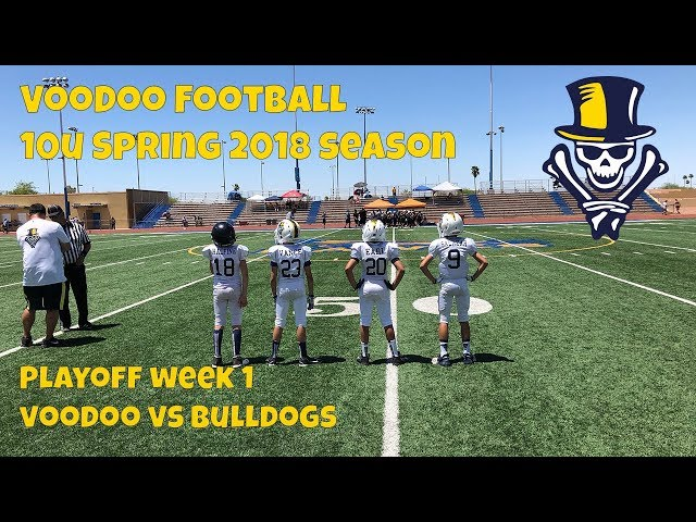10U VooDoo vs Bulldogs 5-12-2018