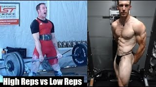 HIGH REPS VS LOW REPS: How Important Is Strength For Building Muscle? thumbnail