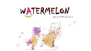 A new life - Episode 1 - Watermelon | Webtoon Comic Dub