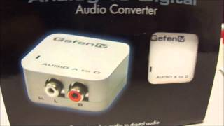 Gefentv GTV-AAUD-2-DIGAUD Analog to Digital Adapter
