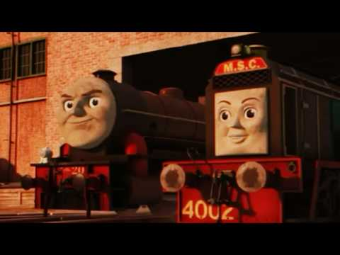 Thomas you're the leader! Cgi Version 1 clip is model