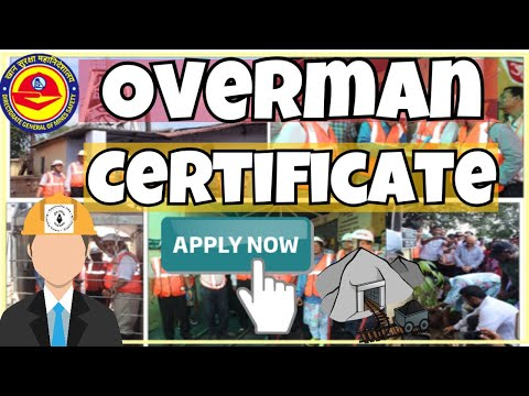 Apply Overman Certificate || How To Apply Overman Ticket || How To Apply OT || Mining Videos | Hindi