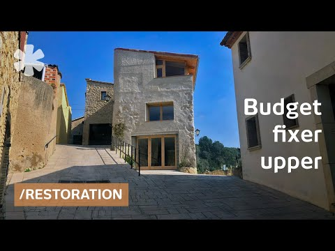 Ruin in castle hamlet becomes frugal family reunion home