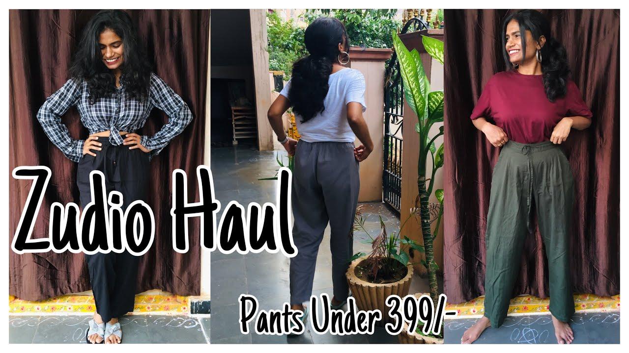 Zudio Clothing Haul | Affordable Clothing Haul | Pants Under 399/- | nayalooks | Navya Varma