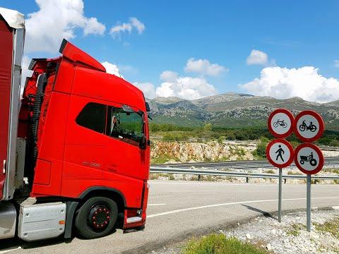 #truckerslifestyle S04 Cz.9 || #Artdrive (90) ZAŁAMANIE POGODY I GRAD TAKI POWRÓT Z GRANADY