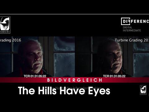 The Hills Have Eyes - Neue Farbbestimmung Color Grading Vergleich 2016 mit 2018
