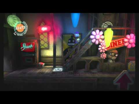 Little Big Planet 2 (community level) Skunk Factory (by bobtox)