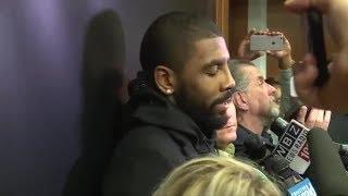 Kyrie says Cavs Won't make playoffs!
