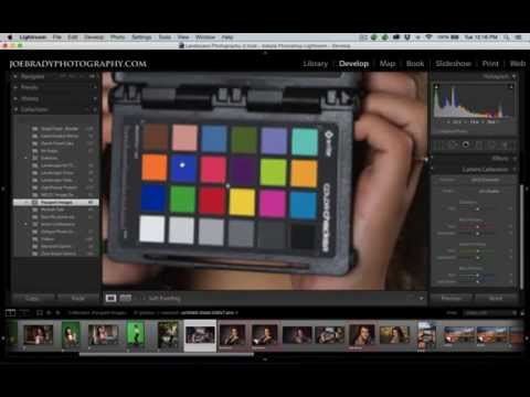Learn how to use X-Rite ColorChecker Passport to Achieve  Perfect Color in Landscape & Portraits
