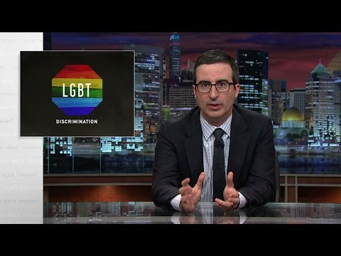 Cover Lagu LGBT Discrimination: Last Week Tonight with John Oliver (HBO) STAFABAND