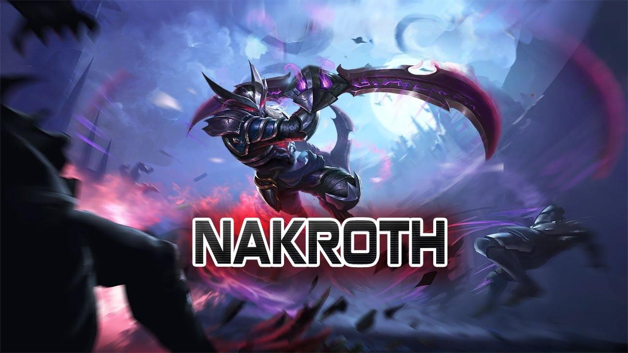 Hướng dẫn chơi Tướng Nakroth - Song Đao Hành Quyết - Liên Quân Mobile  -Strike of Kings