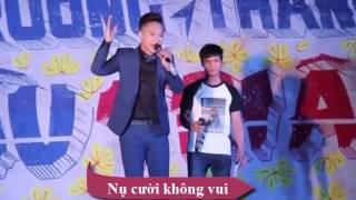 Châu Khải Phong solo Lệ Rơi hát Like Nụ Cười Không Vui