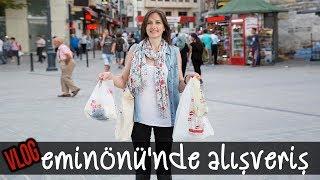 VLOG: Eminönü'nde Nereden Alışveriş Yapıyorum?   Merlin Mutfakta Yemek Tarifleri