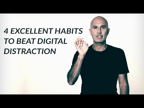 4 Excellent Habits To Beat Distraction | Robin Sharma
