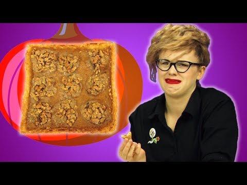Irish People Taste Test Pumpkin Desserts