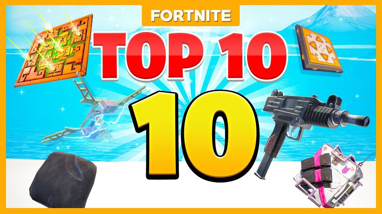 TOP 10 ITEMS die NIEMAND meer WEET!!! Fortnite