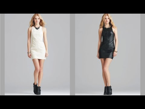 Cute Minkpink Leather Dress With New Style
