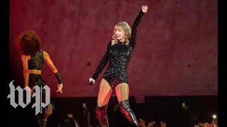 Taylor Swift has never really talked politics. Until now.