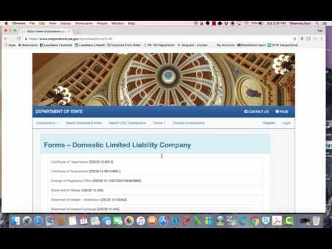 Limited Liability Companies Part I