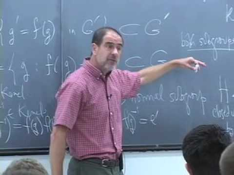 Abstract Algebra ~ Harvard ~ Lecture 04