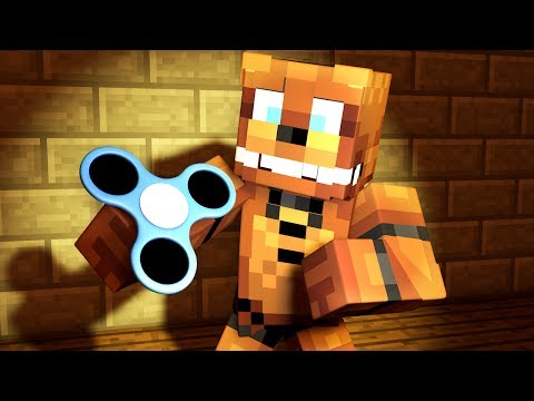Minecraft FNAF Switch - FREDDY GETS A FIDGET SPINNER! | Minecraft Roleplay