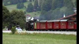 Zillertalbahn Stoomtrein met Lied van de Mayrhofner