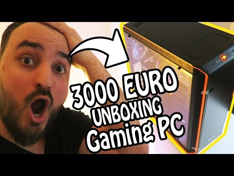 3000 EURO UNBOXING NEUER GAMING PC